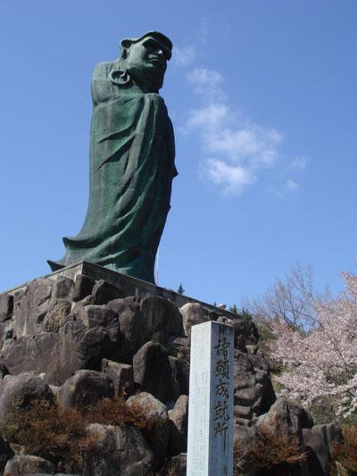 立達磨(岐阜県飛騨市) : 大仏...